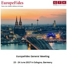 News: EuropeFides-Meeting in Köln vom 23. bis 24. Juni 2017 (19.06.2017)